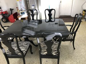 Formal Dining and Chair Set for Sale in Anchorage, AK