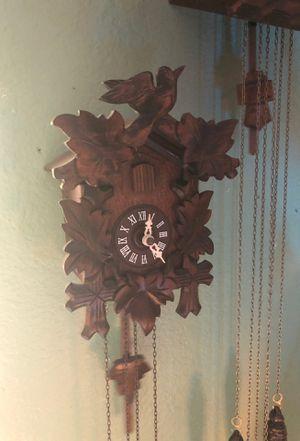 German cuckoo clock small for Sale in Tualatin, OR