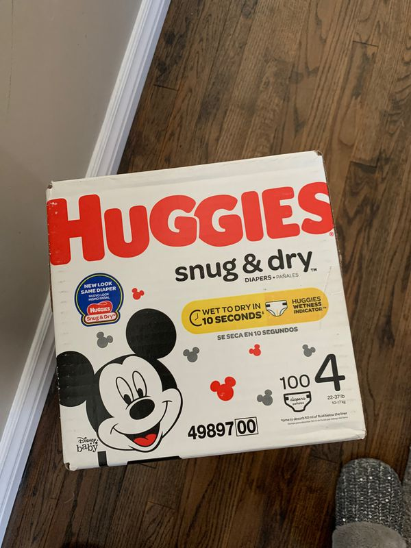New Box Diapers Huggies brand