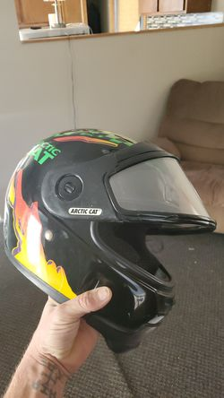 Arctic cat Snowmobile helemet size lrg for Sale in Fort Atkinson,  WI