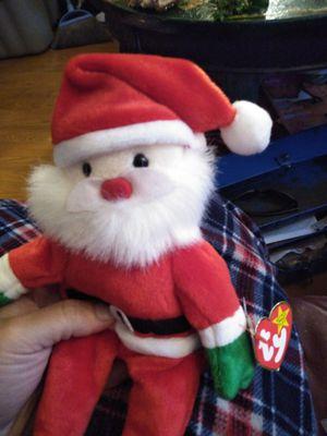 Rare ty beanie santa for Sale in Lino Lakes, MN
