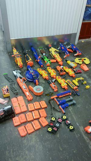 Large Nerf Gun & Super Soaker Lot for Sale in Austin, TX