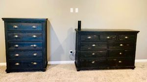 Living spaces farmhouse rustic 3 large Dresser set retail $1300 for Sale in San Diego, CA