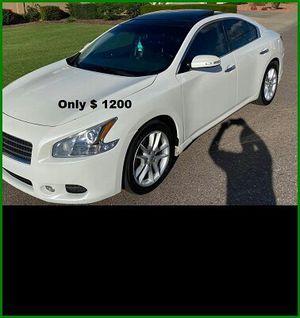 Price$12OO Nissan Maxima for Sale in Raleigh, NC