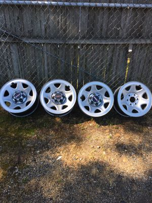 """GMC 17"""" rims with air sensor for Sale in Rocky Mount, NC"""