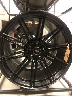 BRAND NEW Satin Black 20 inch MoMo Rims for only $1000!!! for Sale in Tacoma,  WA