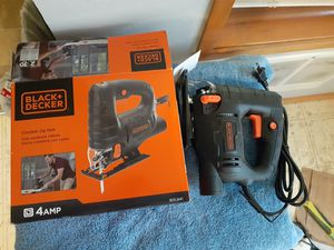 Black & Decker corded jigsaw for Sale in Eugene, OR
