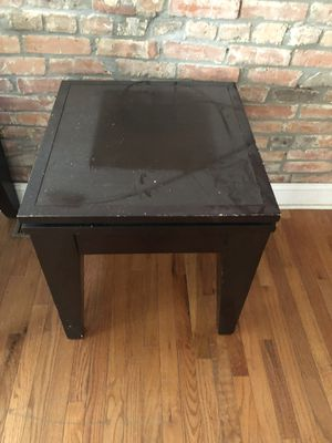Brown coffee an end table set for Sale in Baltimore, MD