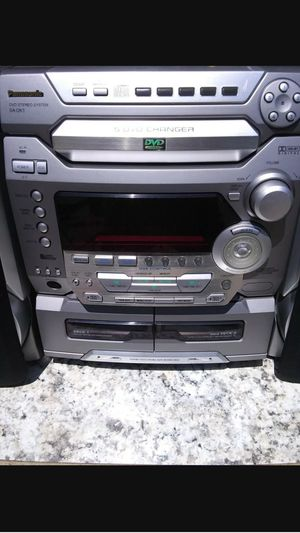 Panasonic SA-DK1 DVD Stereo System. 5 DVD Changer for Sale in NORTH PRINCE GEORGE, VA