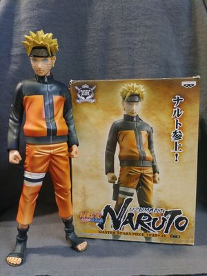 "10"" Uzumaki Naruto Shippuden Master Stars Piece Japanese Statue/Collectible for Sale in Austin, TX"