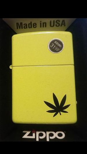 Zippo Lighter: Weed Leaf for Sale in Whittier, CA