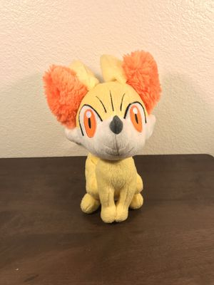 "Pokemon X / Y 8"" inches Fennekin Fox Anime Stuffed Plush Figure TOMY for Sale in Murray, UT"