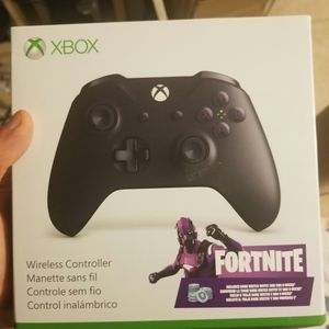 xbox one controller purple fortnite limited edtion BRAND NEW, NEVER OPENED, SOLD OUT IN STORES for Sale in Phoenix, AZ