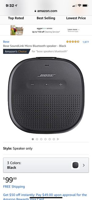 Brand New Bose SoundLink for Sale in Garland, TX