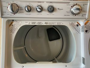 Whirlpool stackable washer and GAS dryer works great fully functional very clean for Sale in Lakewood, CA