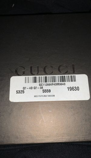 Gucci / WALLET for Sale in Huntington Beach, CA