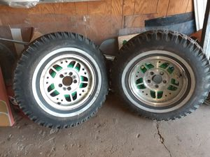 "2 tyres with rim 14"" Ford ranger 94 for Sale in Chicago, IL"