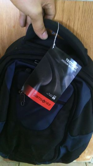 Brand new Samsonite tectonic multi pocket medium backpack 3yr manufacturer global warranty for Sale in Tamarac, FL