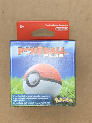 Brand New Never Opened Pokeball Plus Controller for Nintendo Switch!! for Sale in Davie, FL