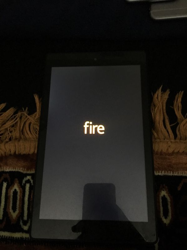 Amazon fire tablet on for games