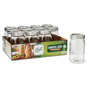 Ball 16 oz smooth sided jar 12 pack for Sale in Alhambra, CA