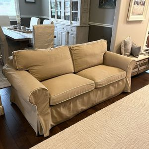 Sofa Sleeper Pull Out Bed Loveseat Beige Tan for Sale in Vancouver, WA