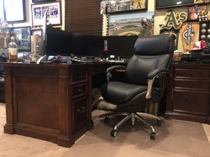 Executive solid Cherrywood desk for Sale in Tracy, CA