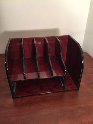Cherry Wood File Holder for Sale in Tacoma, WA