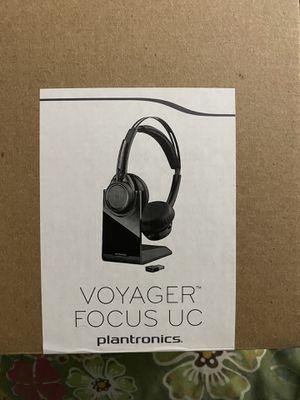 Plantronics voyager focus uc BT Headset B825 for Sale in Fieldsboro, NJ