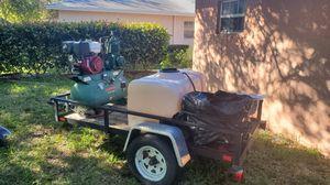 car wash and compressor champion r series cost 3k new for Sale in Pompano Beach, FL