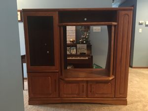 Entertainment center for Sale in Kalamazoo, MI