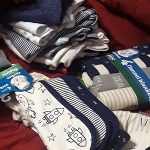Newborn for baby boy clothes for Sale in Detroit, MI