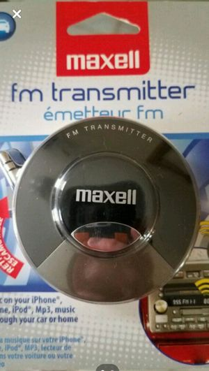 Maxell- FM Transmitter for Sale in St. Louis, MO