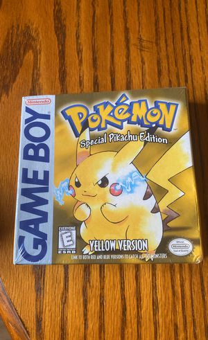 Nintendo game boy Pokémon Special pikachu edition for Sale in Lost Creek, WV