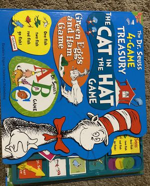 The Dr.Seuss 4-game treasury for Sale in Portland, OR