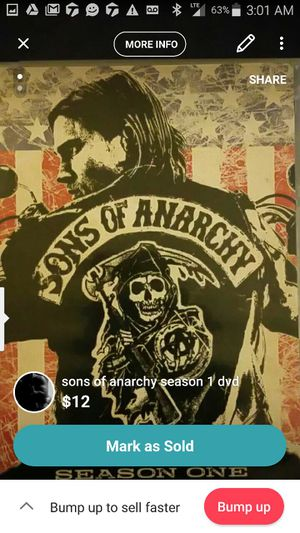 Sons of Anarchy season 1 for Sale in Pittsburgh, PA