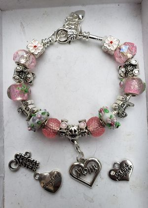 Baby girl mom to be OPT 1 charm bracelet 1 for $15 or 2 for $25 for Sale in Baltimore, MD