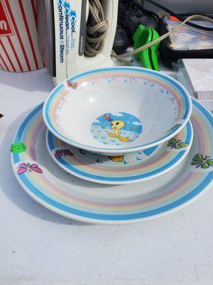 Tweedy bird dish set for Sale in Lynchburg, VA