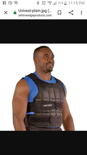 UniVest Adjustable Weight Vest for Sale in Cleveland, OH