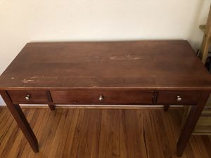 Versatile wooden console table w/ storage for Sale in St. Louis, MO