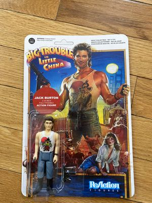 Jack Burton Big Trouble in Little China Action Figure for Sale in Hewlett, NY
