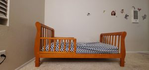 Toddler bed with matres for Sale in Escondido, CA