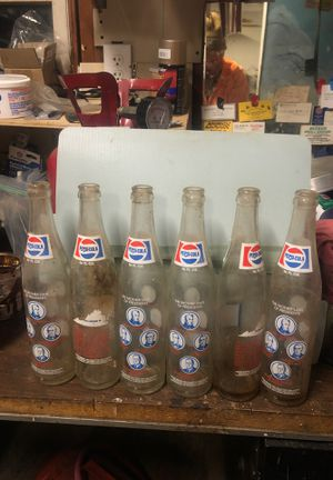 Pepsi bottle limited edition for Sale in Manassas, VA