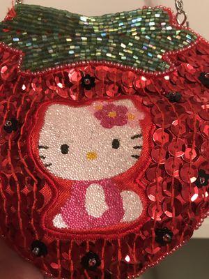 Rare Strawberry Hello Kitty Sequin Purse for Sale in Los Angeles, CA