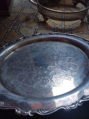 Oneida silver platter for Sale in Oak Glen, CA