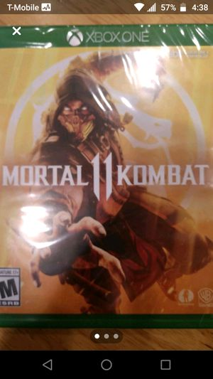 Mortal Kombat 11 New Sealed Xbox ONE for Sale in Arlington Heights, IL