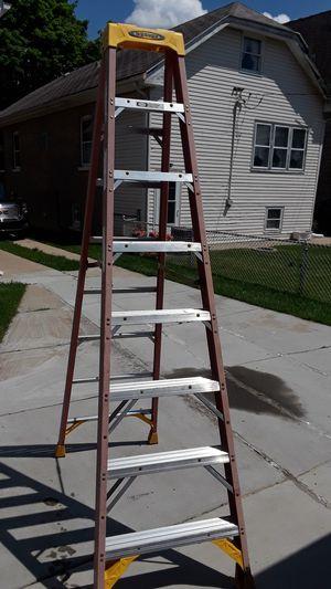 8 ft ladder fiberglass for Sale in Riverside, IL