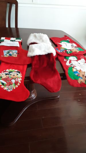 All the Christmas Boots an decorations is 8 Boots x$5.00 good condition for Sale in Montclair, CA