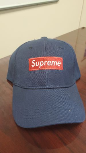 Blue Supreme Brand hat adjustable for Sale in Washington, DC