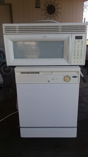 Whirlpool microwave and dishwasher for Sale in Tucson, AZ